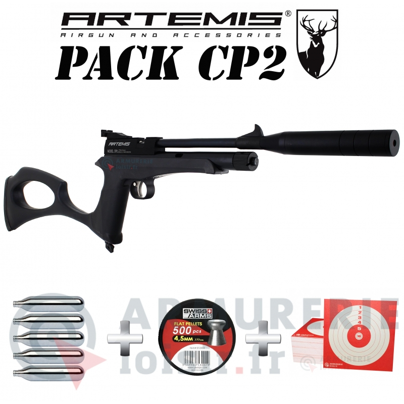 Pack Artemis CP2 4.5mm CO2 (6 joules)