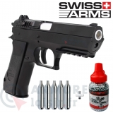 Pack pistolet Swiss Arms 941 CO2 2.8 joules