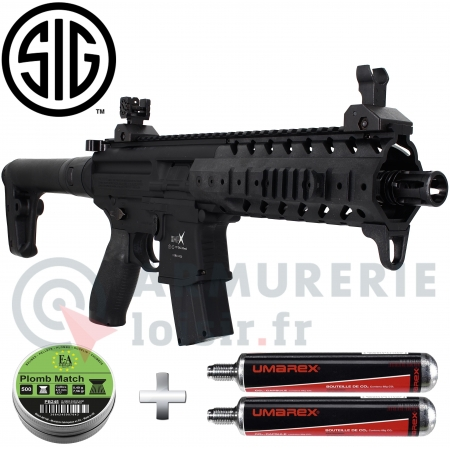 Carabine Sig Sauer MPX CO2 88g 6.7 joules