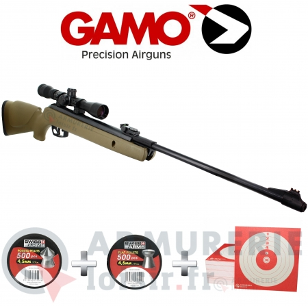 Pack Gamo Big Cat 1000E Barricade 4.5 mm (20 joules)