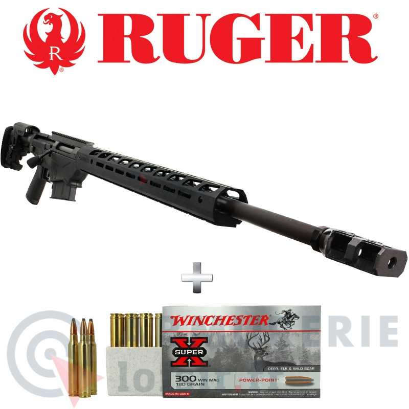 Carabine Ruger Précision Rifle RPR 300 Win Mag