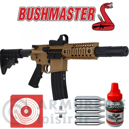 Airgun Bushmaster MPW CO2 billes acier 4.5mm