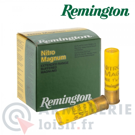 Cartouches Remington Nitro Magnum longue distance -...