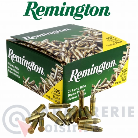 Cartouches REMINGTON 22LR golden bullet X525
