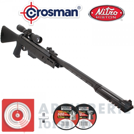 Pack carabine Crosman Diamond back 4.5mm (19.9 Joules)