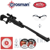Pack Crosman carabine Trasher 4.5 mm (19.9 joules)