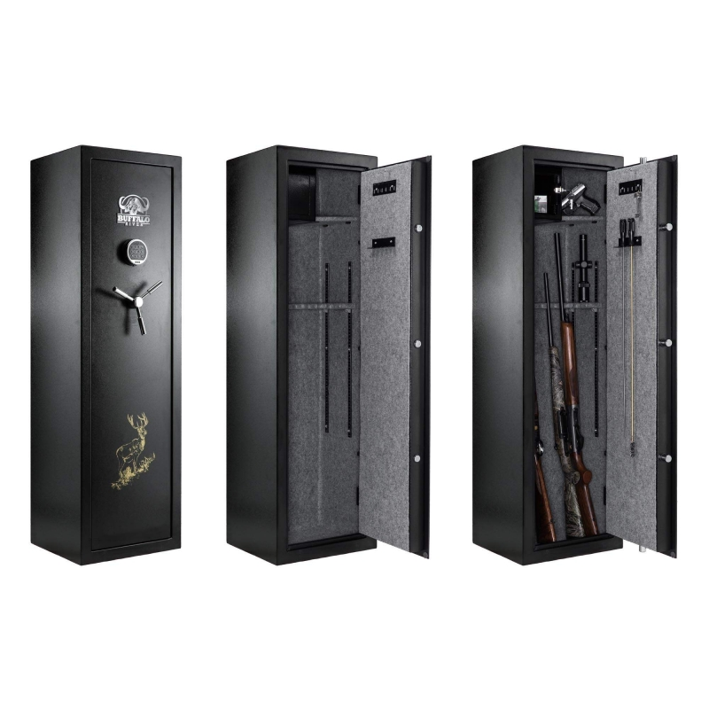 armoire forte buffalo digital premium pour 10 armes. Black Bedroom Furniture Sets. Home Design Ideas
