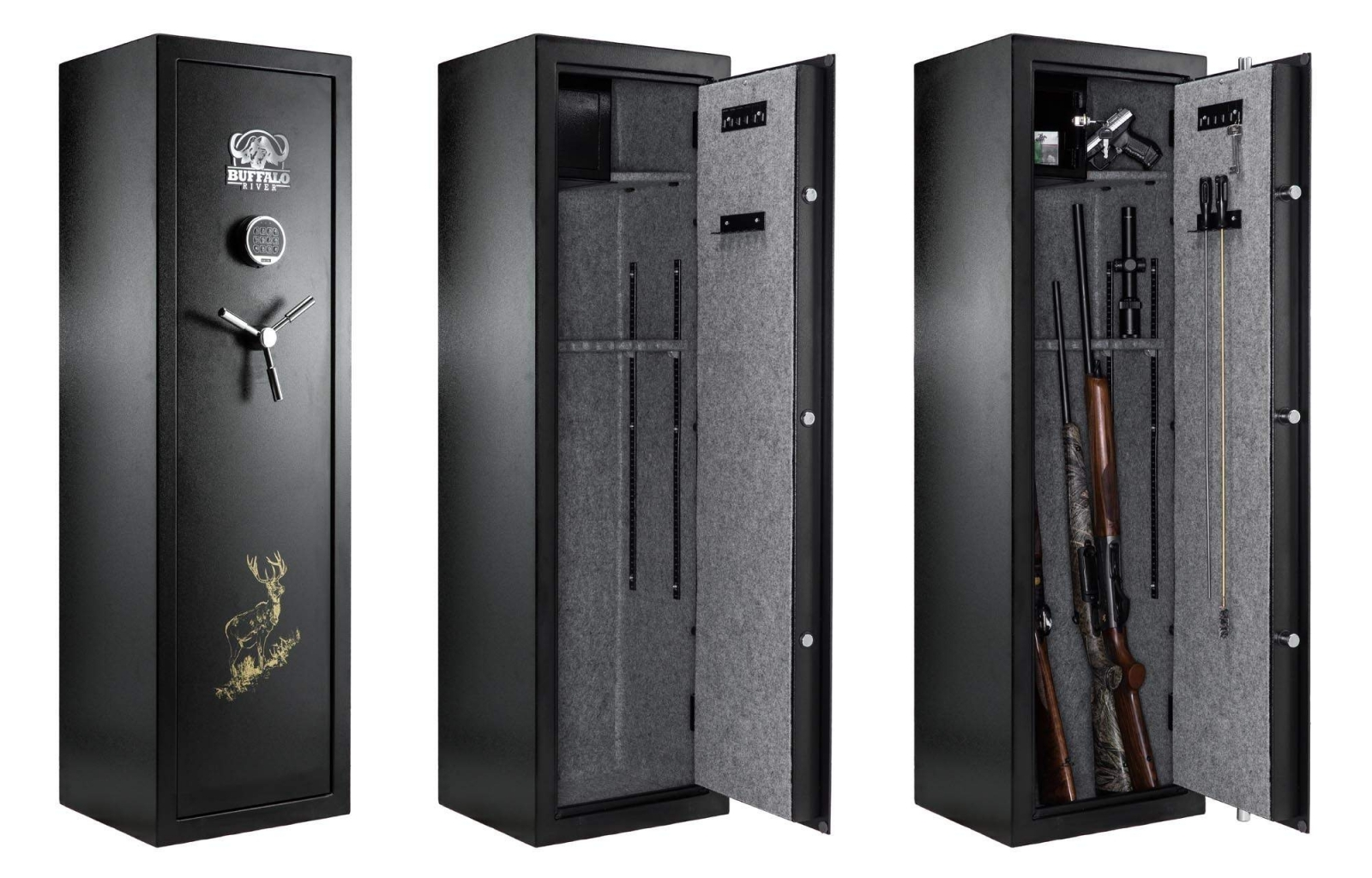 armoire forte buffalo digital premium pour 10 armes armurerie loisir. Black Bedroom Furniture Sets. Home Design Ideas
