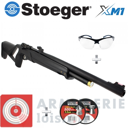 Carabine PCP STOEGER XM1 cal. 4,5 mm (20 Joules)