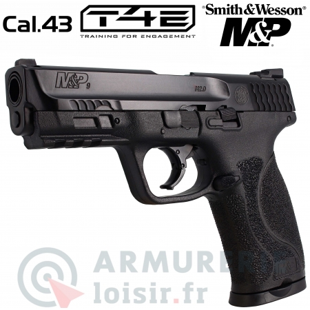 Pistolet T4E Smith & Wesson MP9 cal.43 (5 Joules)