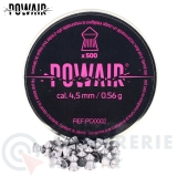 500 Plombs Pointus Powair 4.5 mm 0.56g