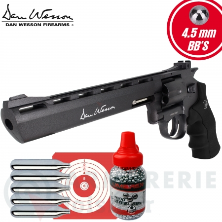 Pack Revolver Dan Wesson CO2 4.5mm BB 8 ""