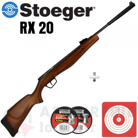 Carabine Stoeger RX20 Bois 4.5mm (20 Joules)