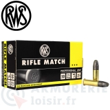 50 cartouches 22LR  Rifle Match RWS