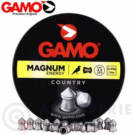 Plombs Gamo Magnum Energy Pointus 4,5mm  x500