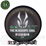 500 Plombs Tête Plate Match 4,5mm Blackops Soul