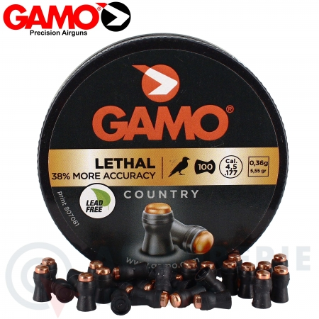 100 Plombs GAMO Lethal 4,5mm