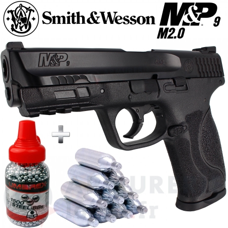 Pistolet Umarex Smith&Wesson MP9 M2.0 CO2 4.5mm...