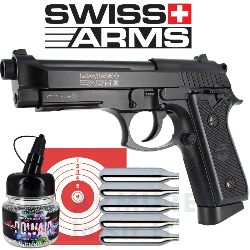 Swiss Arms SA P92 CO2 Blowback 4.5 mm (1.7 joules)
