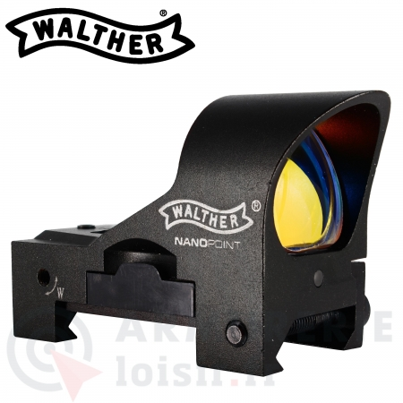 Viseur Point Rouge Walther Nano Point Auto