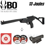 Pack Pistolet Langley Pro Sniper 4.5 mm (13 Joules)