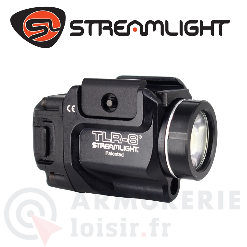 Combo lampe laser rouge Streamlight TLR-8 ( Montage Picatinny)