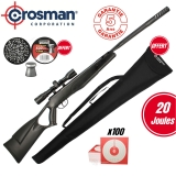 Pack Crosman F4 Nitro Piston - 4x32 (20 Joules)