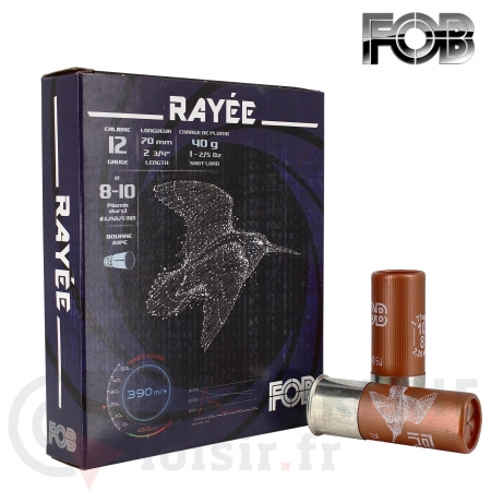 Fob 12/70 becasse special Rayée 40g plomb 8-10