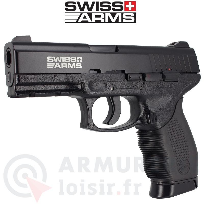 Swiss Arms SA-24 PT24/7 CO2 4.5 mm BB'S (2,6 joules)