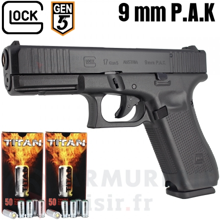 Pistolet Glock 17 Gen 5 First Edition 9mm PAK