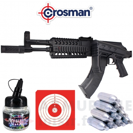 Crosman AK1 - Full Auto - CO2 4.5mm BB's (3.5...