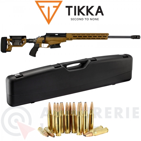 Pack Tikka T3x TAC A1 Coyote Brown .308 Win