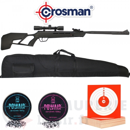 Crosman Mag-Fire Mission 12 coups - 4.5 (20 Joules)