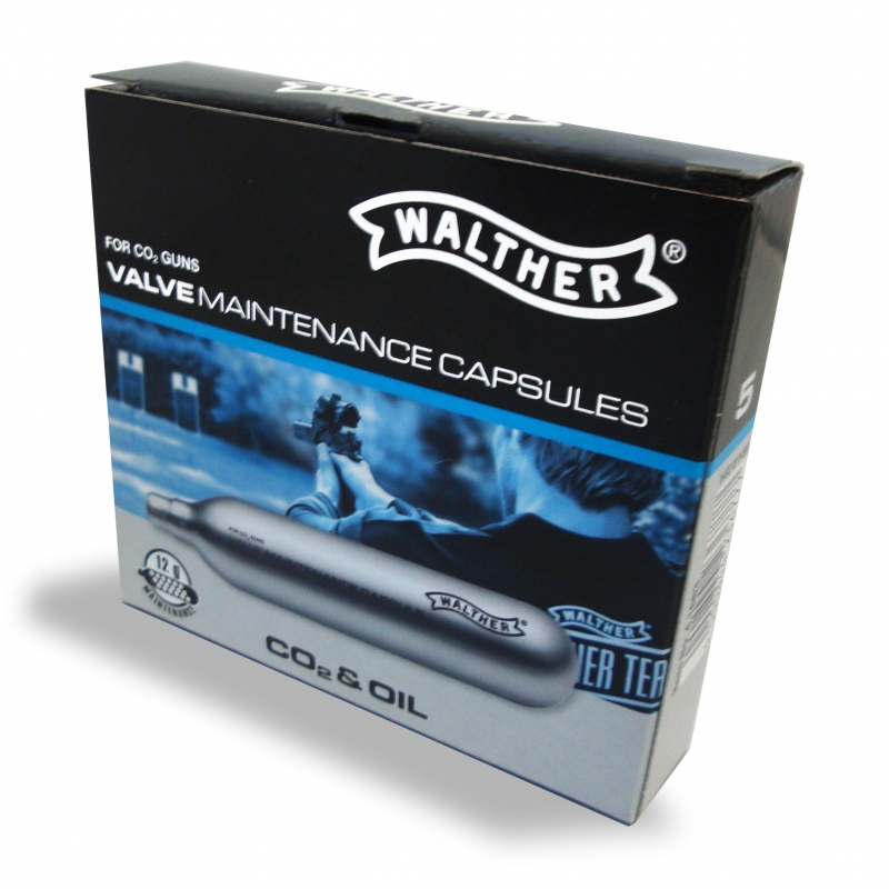 Cartouche CO2 d'entretien 12g WALTHER